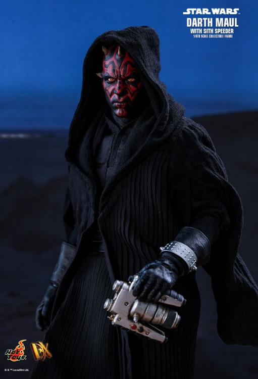 Hot Toys Darth Maul with Sith Speeder