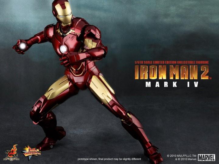 Hot toys iron man mark iv torso