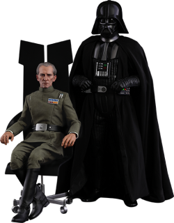 Hot Toys Grand Moff Tarkin and Darth Vader