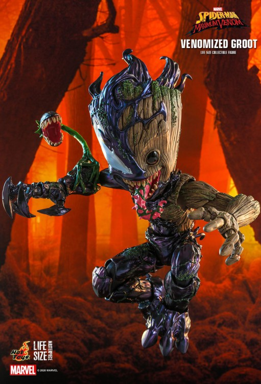 Hot toys The Venomized Groot Life-Size