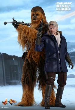 Hot Toys Chewbacca & Han Solo