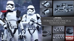 Hot Toys First Order Stormtrooper Officer & Stormtrooper