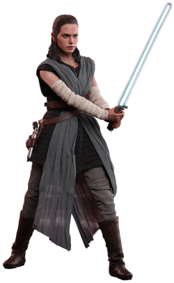 Hot toys Rey Jedi training