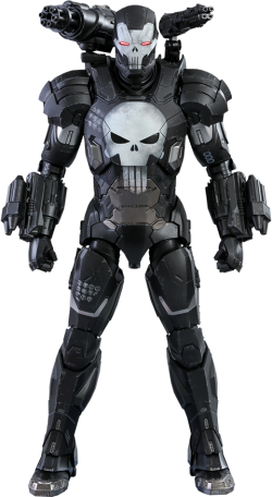 Hot Toys The Punisher War Machine Armor