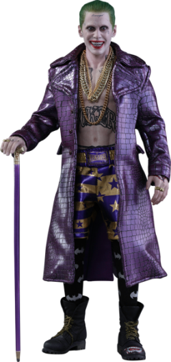 Hot toys Joker Purple Coat Version