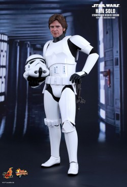 Hot Toys Han Solo Stormtrooper Disguise Version
